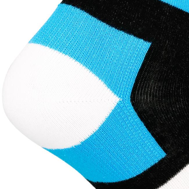 Socks RS 160 High 3-Pack - Sky Blue/Black