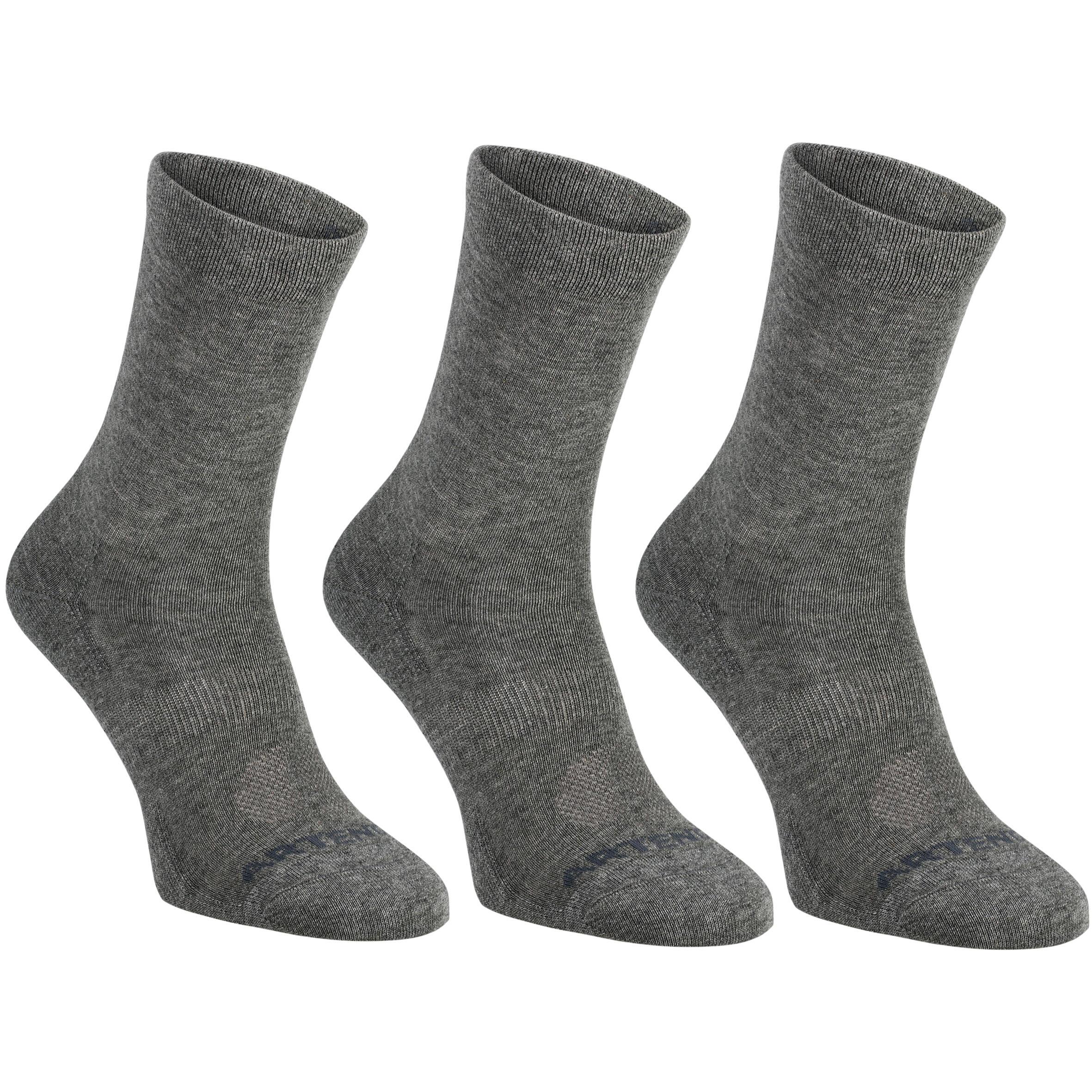 RS 160 High Sport Socks 3-Pack - Dark Grey