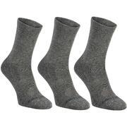 Temno sive visoke nogavice RS160 za odrasle (3 pari)