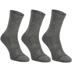 Tennissocken RS 160 High 3er Pack dunkelgrau