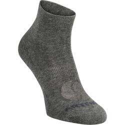 Mid-High Tennis Socks RS 160 Tri-Pack - Dark Grey