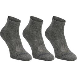 RS 160 Mid Sport Socks Tri-Pack - Dark Grey