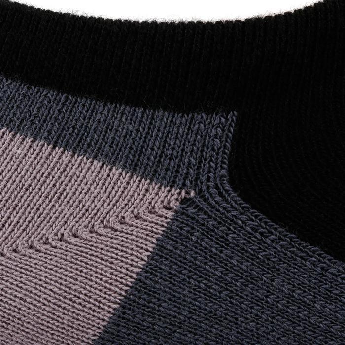 Tennissocken RS 160 Low 3er-Pack schwarz/grau
