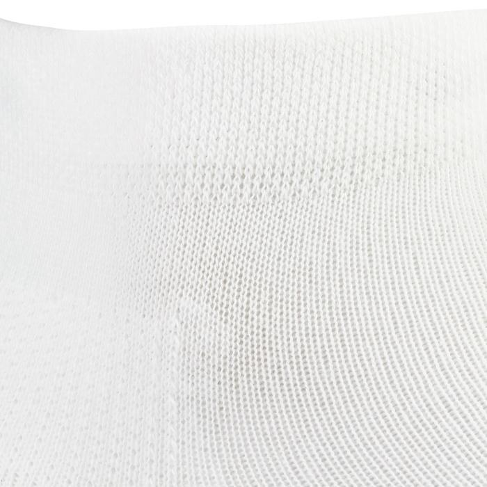 3雙入中高筒網球運動襪RS 160-白色