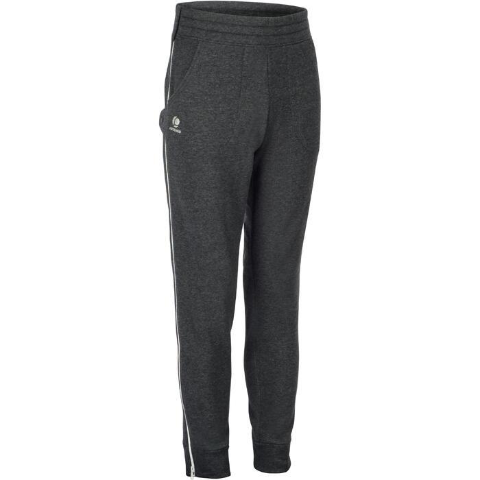 拉鍊長褲Ziplayer-深灰色/白色拉鍊