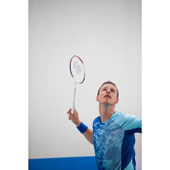 Badmintonschläger BR820 Lite Erwachsene weiß/rot