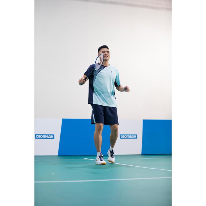 Badmintonracket BR810 voor volwassenen donkerblauw