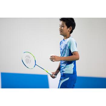 Badmintonracket kinderen BR820 blauw/groen