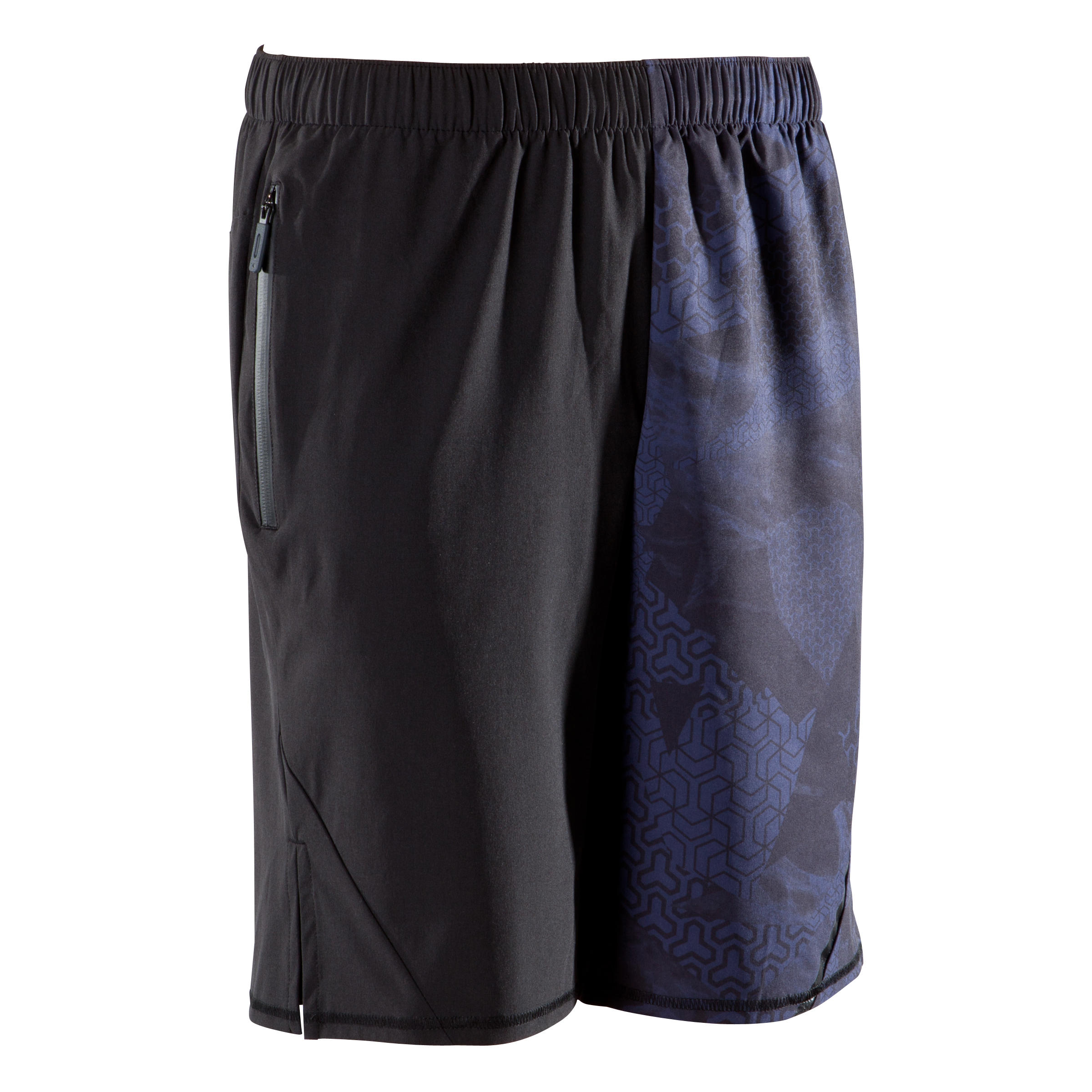 SHORT CROSSTRAINING 500 HOMME BLEU