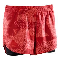 Crosstraining short 500 dames roze