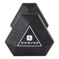Haltère hexagonal 2,5kg