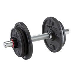 Haltere de musculação 10 kg (conjunto)