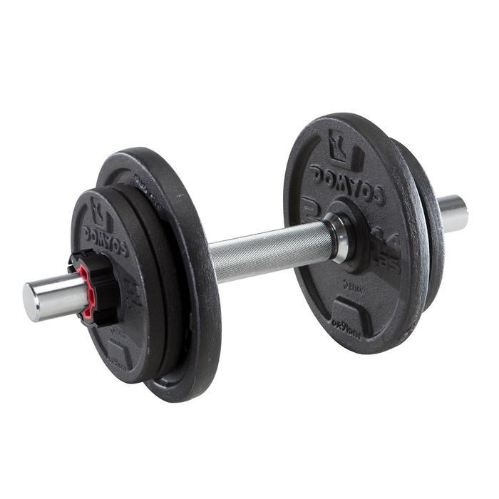 Kit haltères musculation 10 kg - 1248562