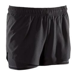 500 Women's Cross Training Shorts - Black