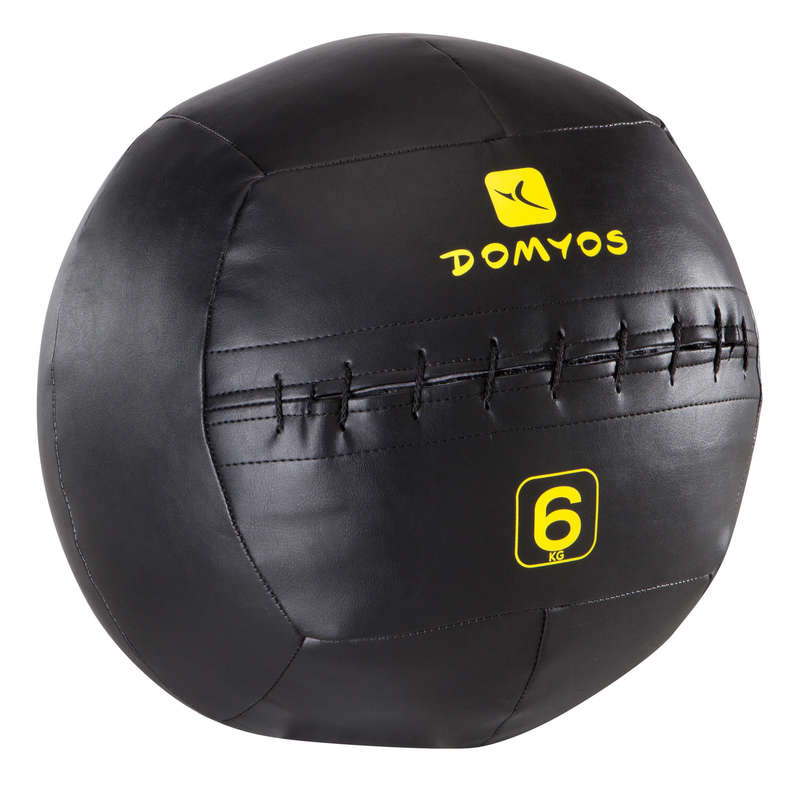CROSS-TRAINING ACCESSORIES AND EQUIPMENT Fitness and Gym - Wall Ball 6 kg DOMYOS - Fitness and Gym