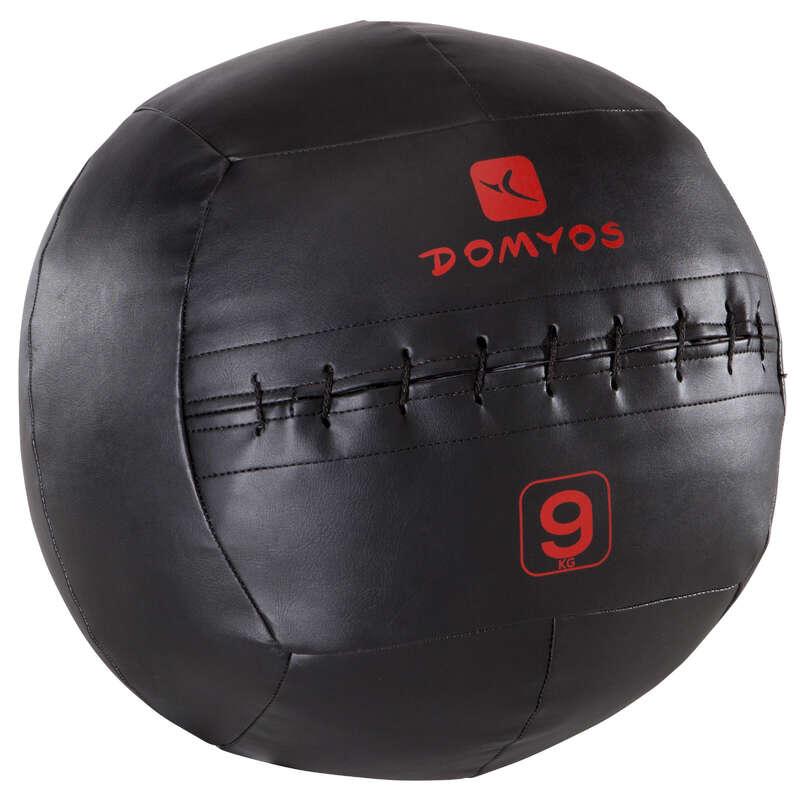 TILLBEHÖR OCH UTRUSTNING FÖR CROSSTRAINI Cross Training - WALL BALL 9 kg DOMYOS - Cross Training