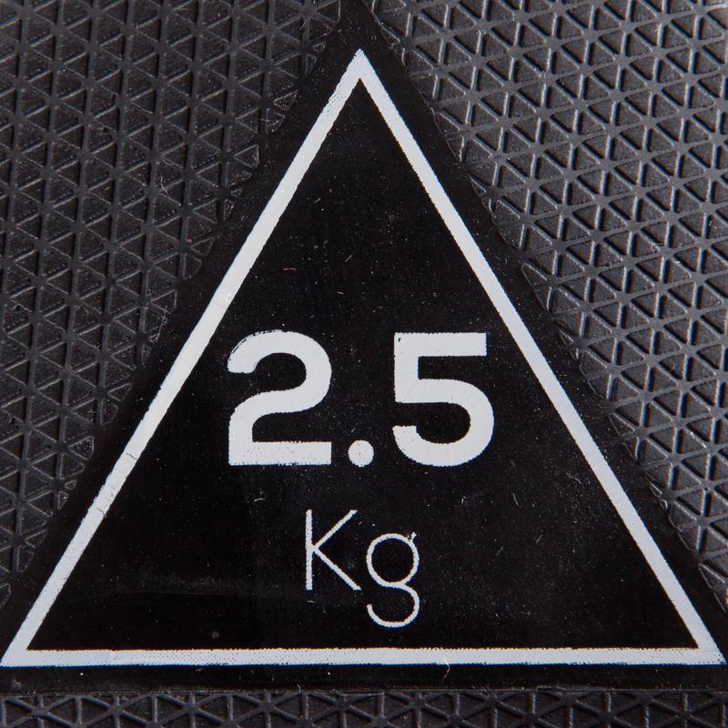ดัมบ์เบลหกเหลี่ยม 2.5 กก.