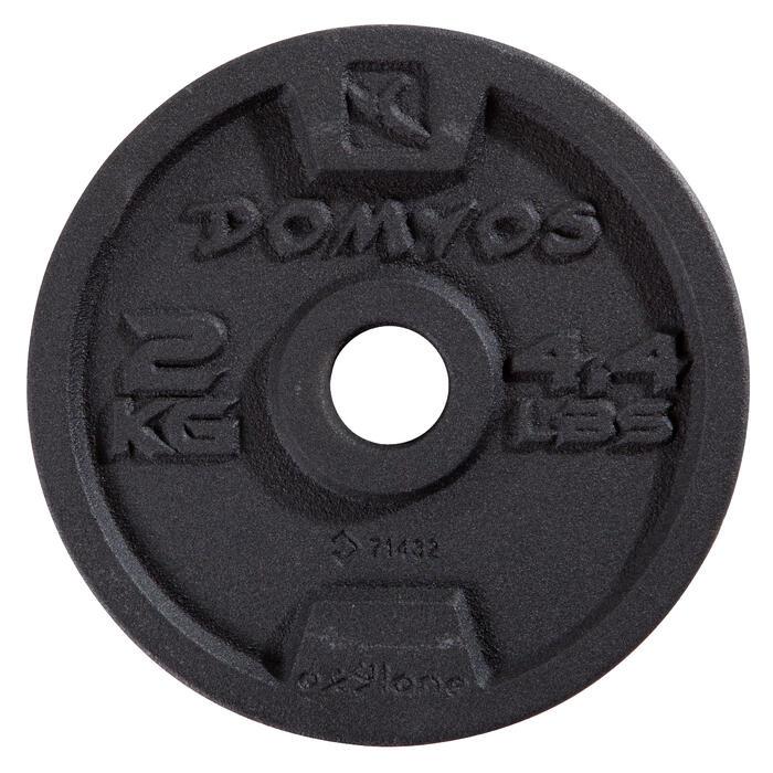 Kit haltères musculation 10 kg - 1248659