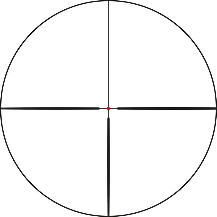 Lunette de visée carabine 1,5-6x42