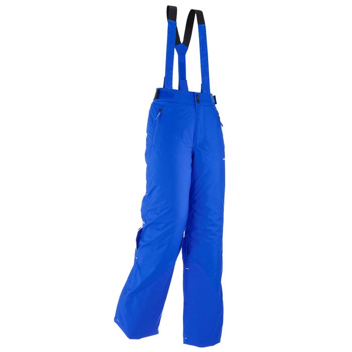 Skihose Piste 500 PNF Kinder blau
