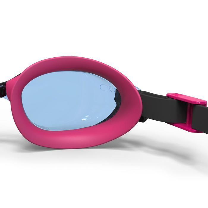 21a68af40c0461 Nabaiji Zwembrilletje 500 B-Fit zwart/roze lichte glazen | Decathlon