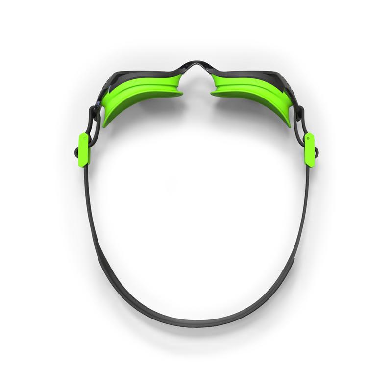 B-FIT Swimming Goggles - Black/Green