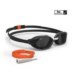 Zwembril B-Fast zwart/oranje