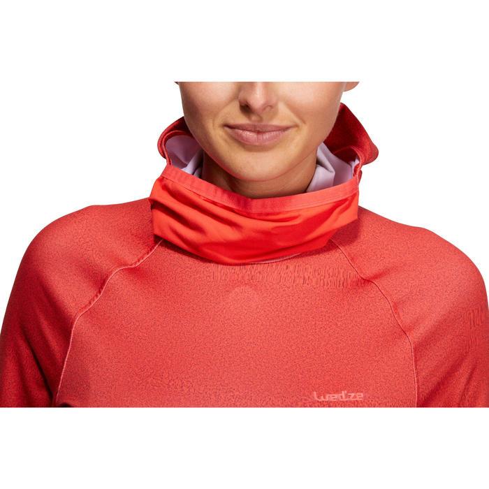 Dames thermoshirt voor skiën Freshwarm Neck rood