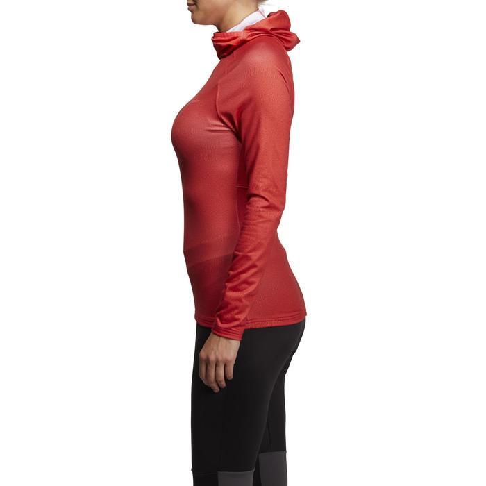 Camiseta de esquí mujer Freshwarm Neck roja