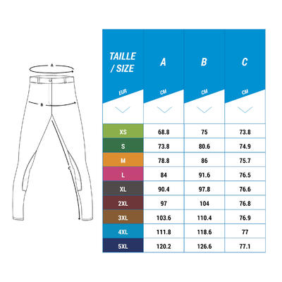 بنطلون ركوب الخيل BR340 – لون ازرق