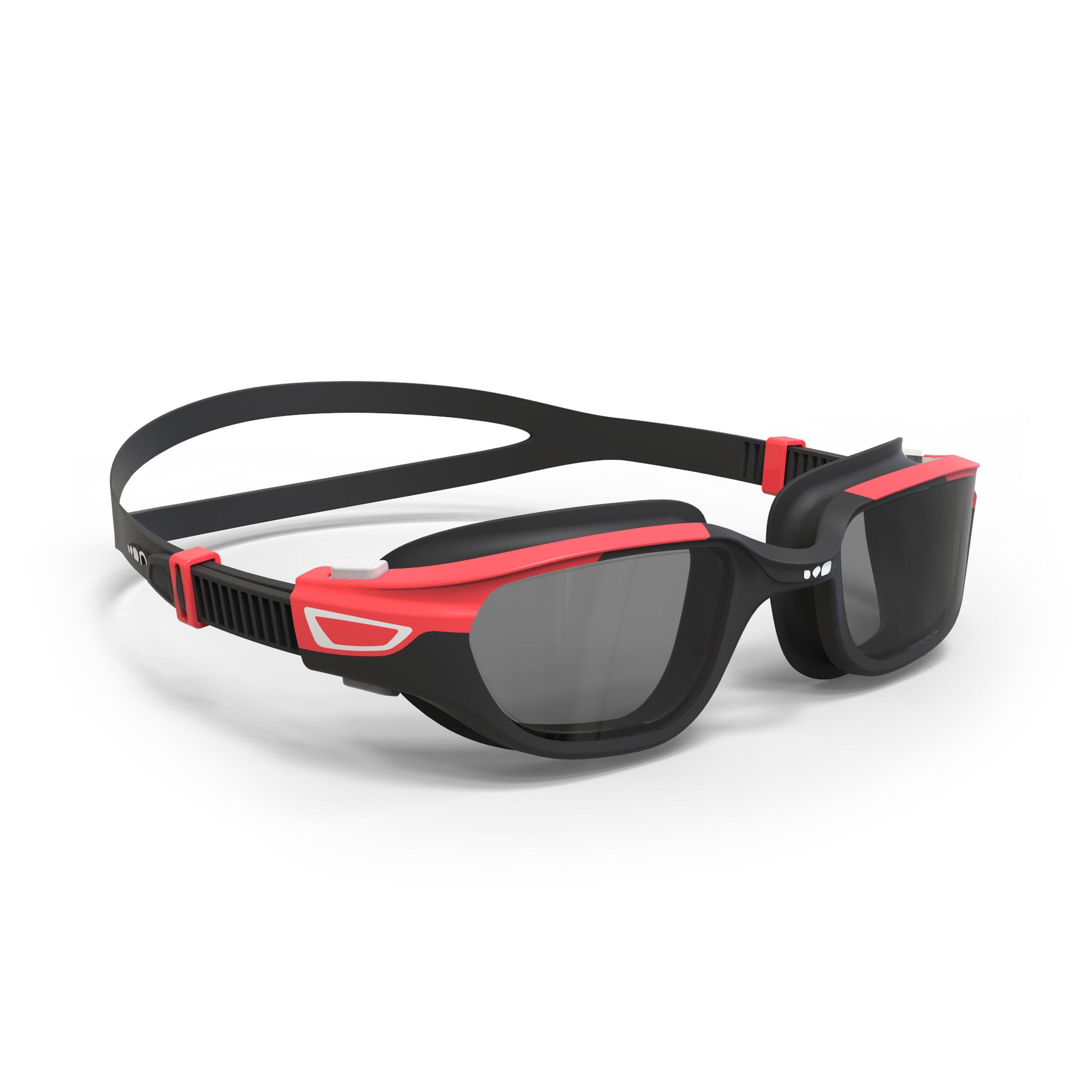Lunettes de natation SPIRIT noir rouge Taille G