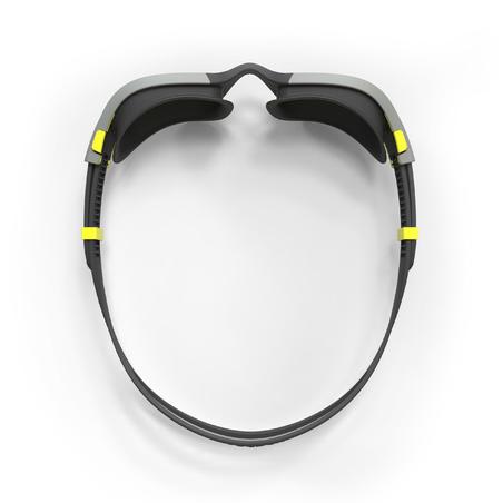 Goggles SPIRIT Talla G negro gris espejo