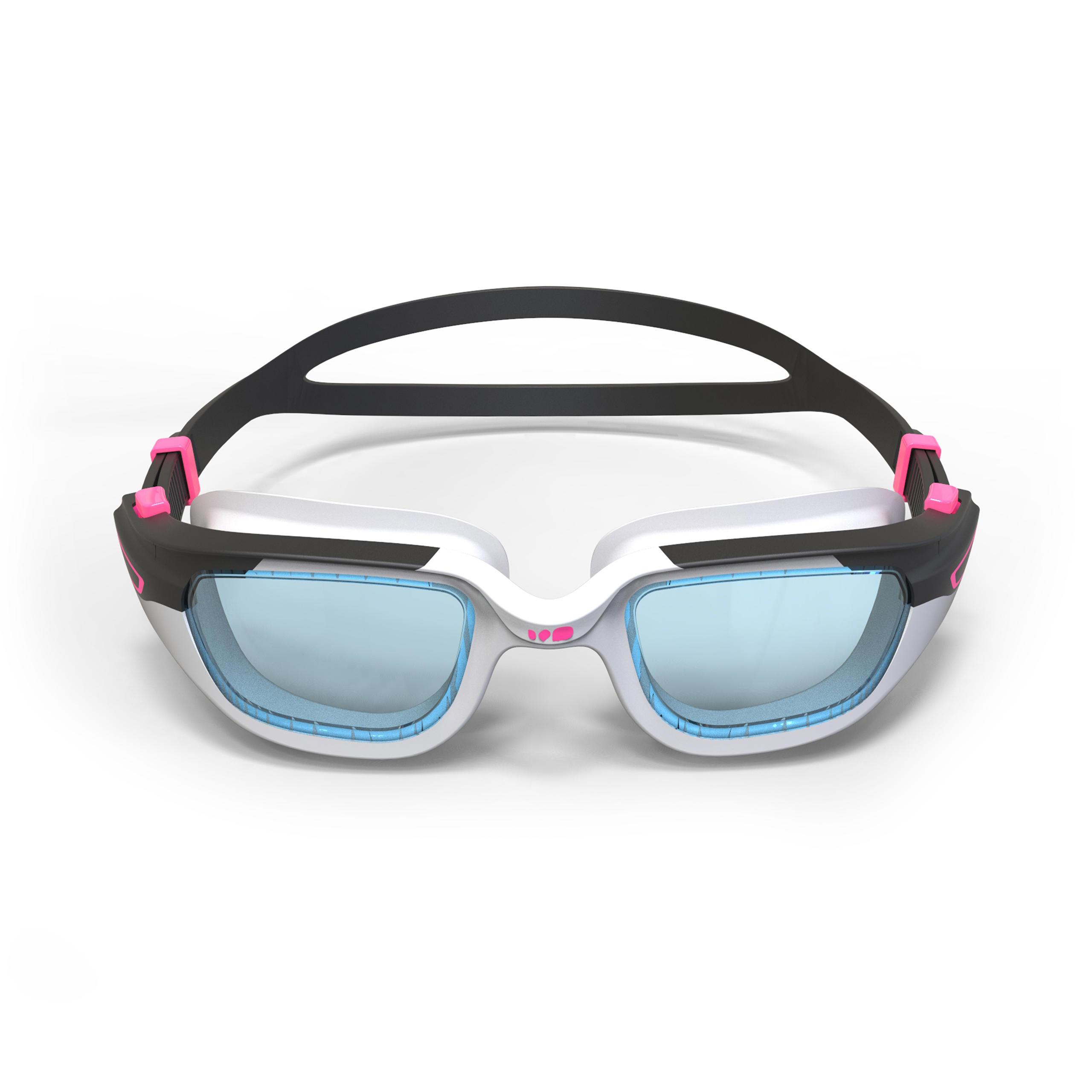 Spirit Size S Swimming Goggles - White Pink