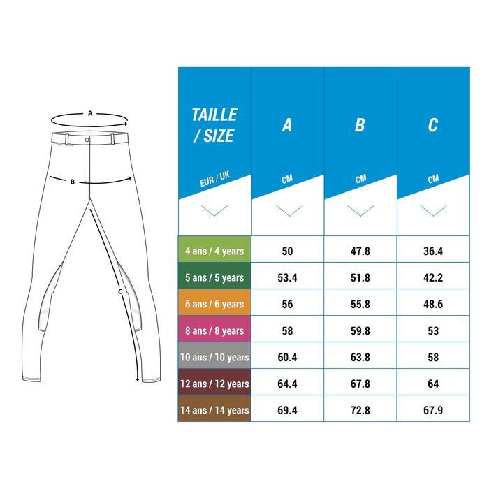 Pantalon équitation enfant BR140 basanes - 1248956