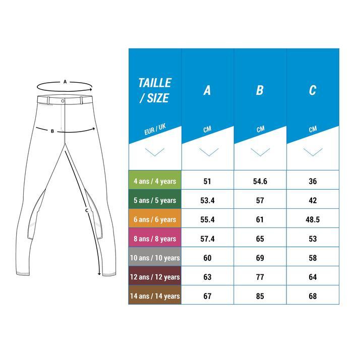 Pantalon chaud imperméable équitation enfant KIPWARM - 1248967