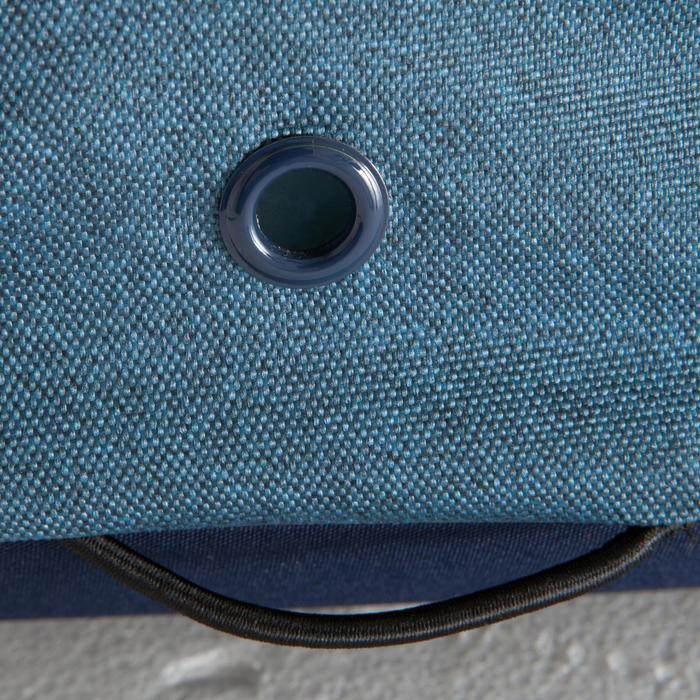Bolsa de deportes colectivos Away 30 litros gris azul amarillo