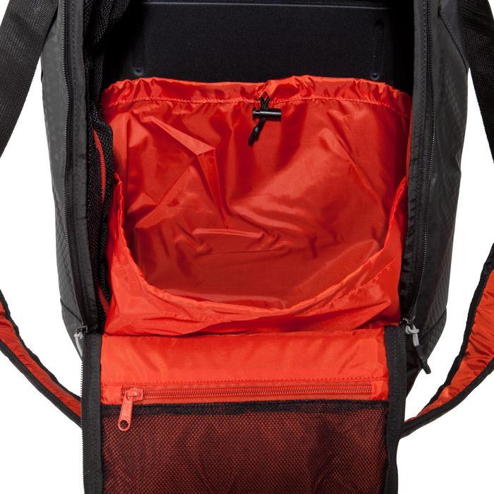 Sporttasche Away 50Liter schwarz/rot