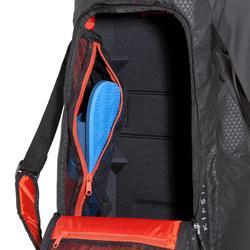 Sporttas Away 50 l zwart/rood