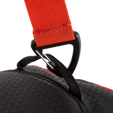 Away 50 Litres Sports Bag - Black/Red