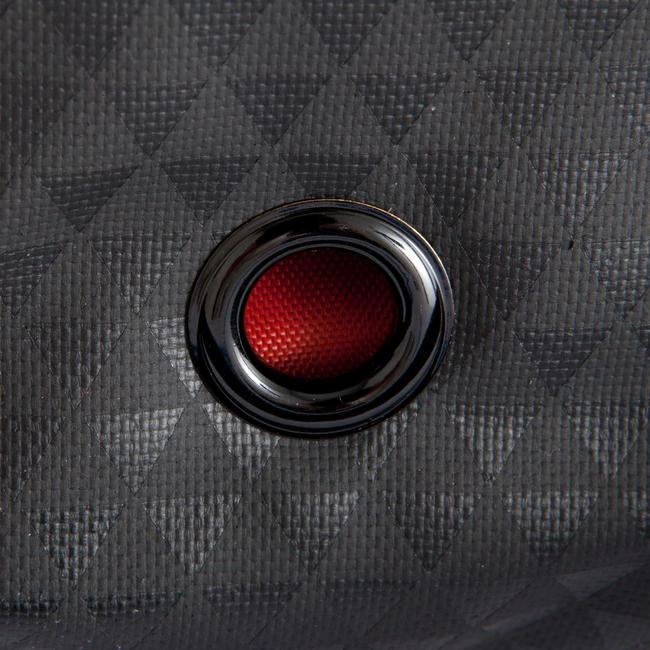 FOOTBALL KITBAG Away 30 Litres - Black/Grey/Red