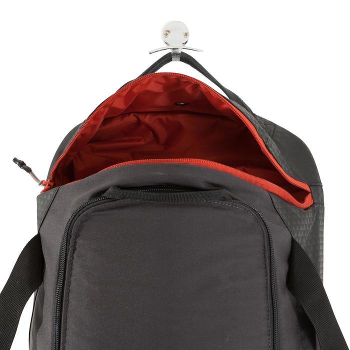 Bolsa de deporte Away 30 litros negro/gris/rojo