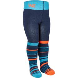 COLLANT DE SKI, BEBE-ENFANT, COLLANT CHAUSSETTE WARM, BLEU ORANGE
