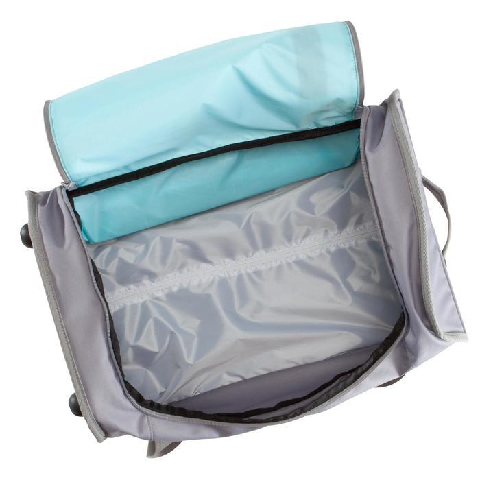 Sporttasche mit Rollen Classic Trolley 30Liter grau/blau