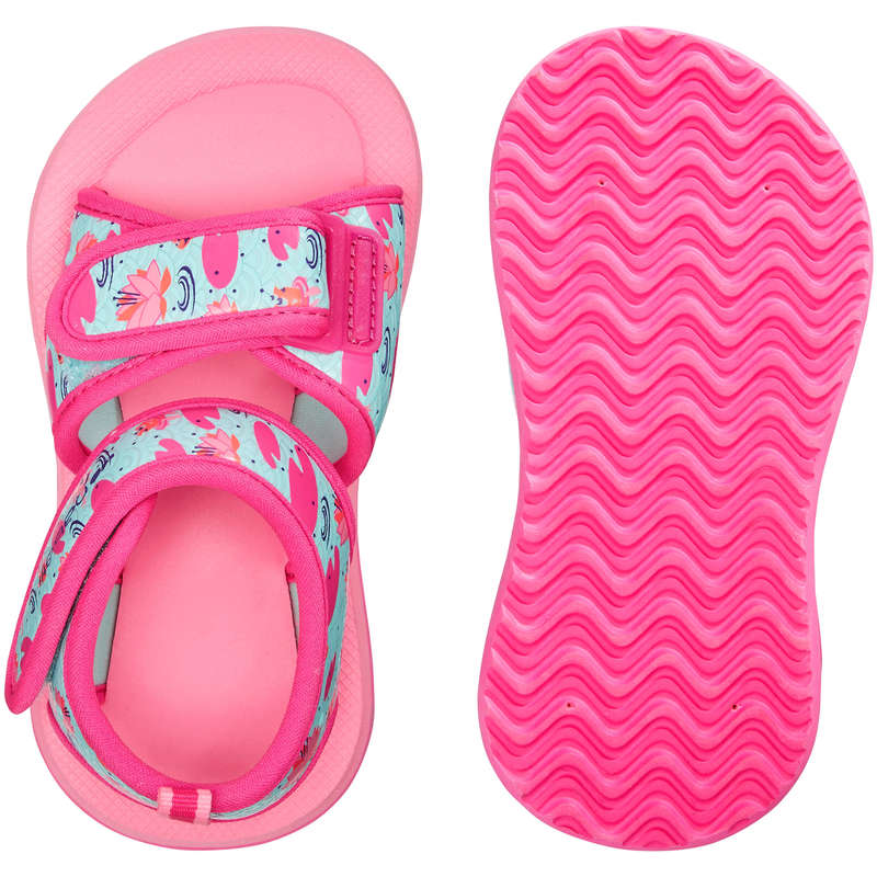 BABY SWIMSUITS & ACCESS. Swimming - Baby Pool Sandals - Pink NABAIJI - Swimming