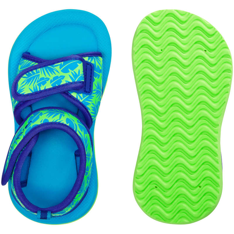 BABY SWIMSUITS & ACCESS. Swimming - Baby Swimming Sandals - Green NABAIJI - Swimming