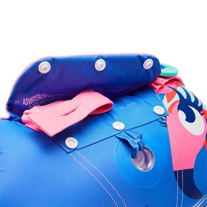 Schwimmflügel-Gurt Schwimmgürtel Tiswim Flamingo 15–30kg Kinder rosa