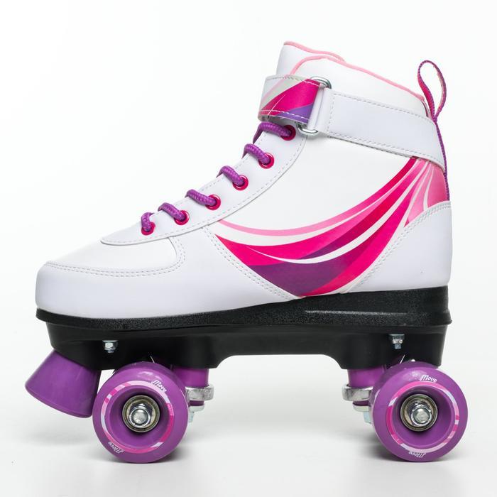 Fitness rolschaatsen Move Wave voor kinderen roze