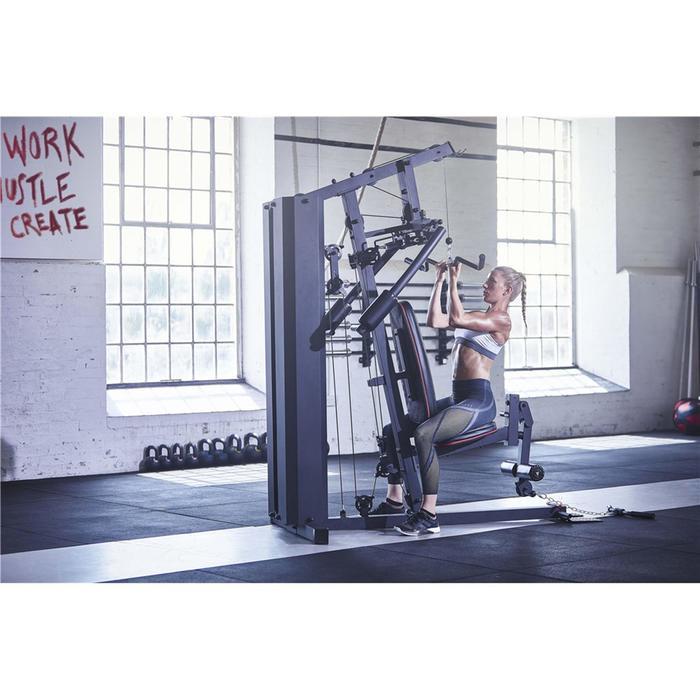 Multiestación de musculación home gym adidas 100 kg adidas decathlon