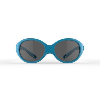 Gafas de sol excursionismo esquí bebé 6 - 24 meses BABY 300 azul categoría 4