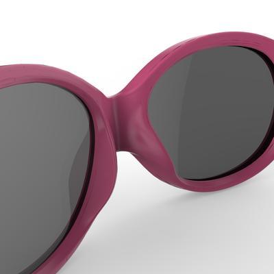 نظارات شمسية 300 للتجول للأطفال فى سن 6-24 شهرًا من الفئة 4 - لون وردي